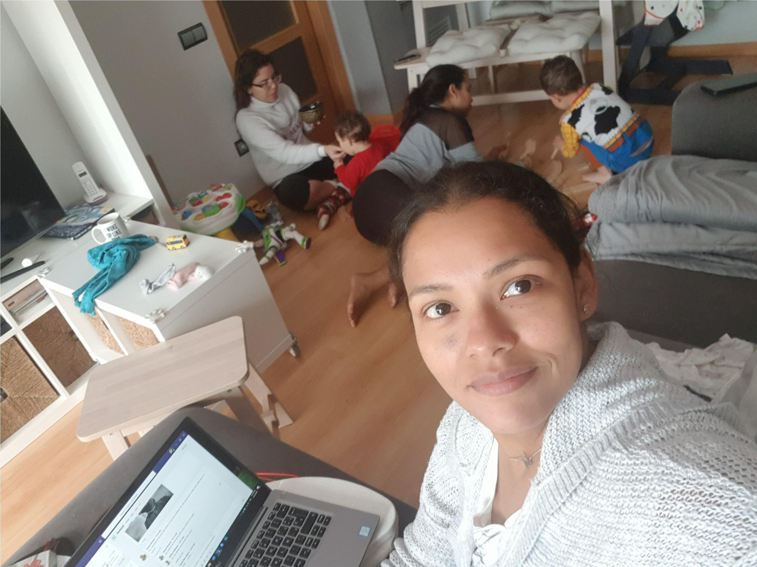 COVID19 & working from home (with two kids)